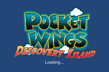 PocketWings 起動画面