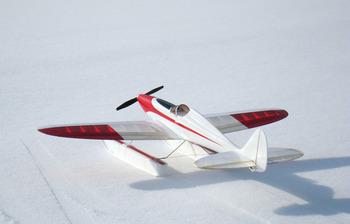 スキーをつけた Silky Wind 400S