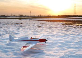 フライトを終えたSilky Wind 400S