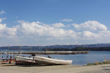 七尾市の漁港