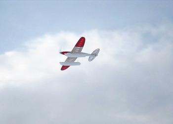 冬空に飛ぶ Silky Wind 400S